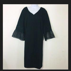 Talbots Dress 22 W Black Career New MSRP $169 Q92